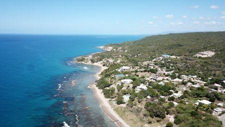 Aerial View Billys Bay Beach